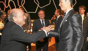 Blatter revela enojo de Florentino Pérez por elegir a Messi sobre Cristiano