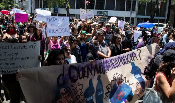 CDHDF pidió protección para mujeres amenazadas tras marcha