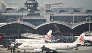 Cancelan 100 vuelos en aeropuerto de Hong Kong en apoyo a huelga general