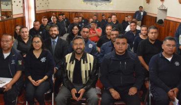 Capacitan a oficiales de seguridad pública de Pátzcuaro en masculinidades no violentas