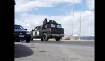 Captan enfrentamiento armado en Nuevo Laredo, Tamaulipas (Video)