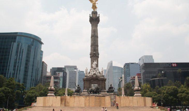 Cierre del Ángel es por restauración tras sismo de 2017, no por grafitis