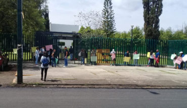 Como cada año estudiantes se manifiestan para solicitar cupo en la Universidad Michoacana