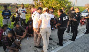 De Qatar a Veracruz, la travesía de 65 migrantes asiáticos