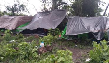Desmantelan narcocampamento luego de balacera contra sicarios en Chavinda, Michoacán