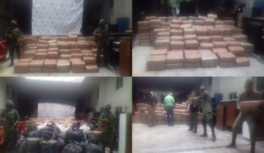 Ejército asegura droga valuada en más de 3 Mdp en Nayarit