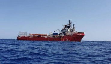 El Ocean Viking aliviado por los 356 migrantes a los que rescató