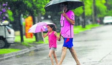 El SMN pronosticó lluvias acompañadas de granizo para Sinaloa y Nayarit