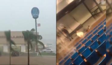 Gran tormenta acechando a Culiacán a provocando peligrosas inundaciones (Videos)