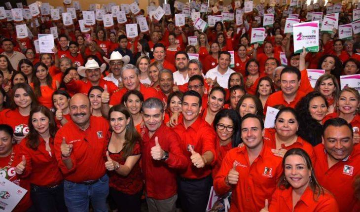 Impulsar un partido humilde, sencillo, cercano a la gente, es lo que va a construir el mejor PRI de todos los tiempos: Alejandro moreno