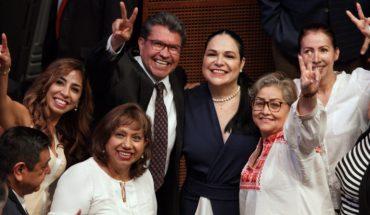 Mónica Fernández es electa como presidenta de la Mesa Directiva del Senado