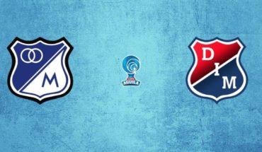 Millonarios vs Independiente Medellín en vivo: Copa Águila 2019, vuelta octavos