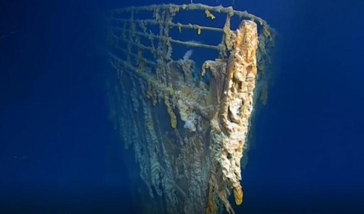 Muestras imágenes del Titanic en 4K