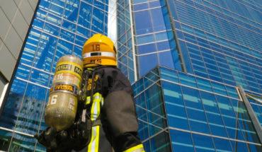 bombero corrida por la vida