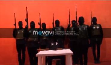 Presuntos miembros Cartel Nueva Plaza mandan mensaje a gente traicionada por el CJNG (Video)