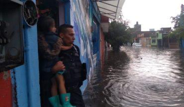 Protección Civil y Bomberos de Morelia realiza recorridos preventivos por las calles y zonas bajas de Morelia