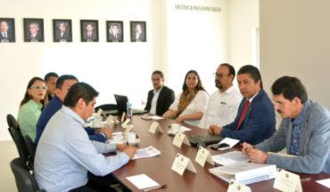 Rector de la UMSNH se reúne con alcaldes de la región Uruapan y SCOP