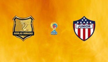 Rionegro Águilas vs Junior en vivo: Liga Águila 2019, partido por la fecha 5