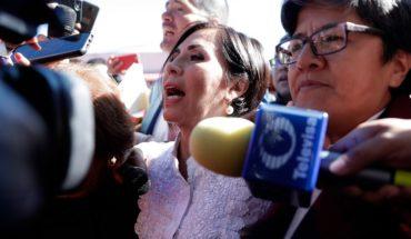 Rosario Robles llega al Reclusorio Sur para reinicio de audiencia