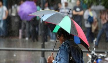 Se Prevé para Michoacán Cielo nublado por la tarde con lluvias fuertes y descargas eléctricas con posibles granizadas