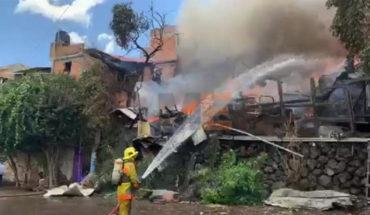 Se incendian 6 viviendas de madera y lámina en Zacapu, Michoacán