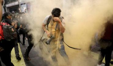 Se registran 11 periodistas agredidos en la marcha #NoMeCuidanMeViolan