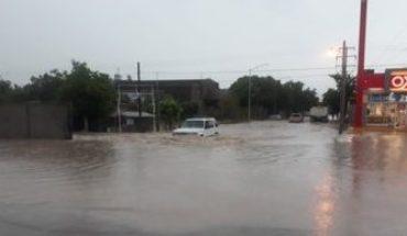 Suspenden clases en 7 municipios de Sinaloa; 5 están en emergencia