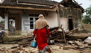 Terremoto en Indonesia dejó cuatro muertos y más de 200 casas con daños