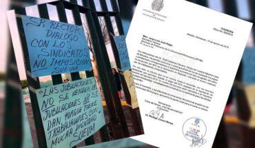 Trabajadores de la UMSNH inician tomas por pagos a medias