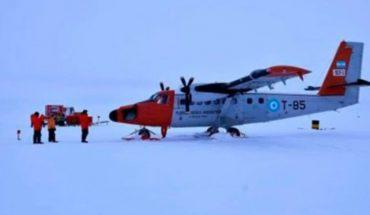 Tripulantes de avión argentino fueron rescatados por militares chilenostras accidente en la Antártida