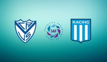 Vélez vs Racing EN VIVO: Superliga Argentina 2019, tercera fecha