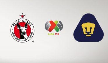 Xolos vs Pumas en vivo online: Liga MX 2019, partido este viernes