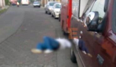 A man is shot dead in Uruapan, Michoacán