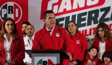 Alejandro Moreno leads up for PRI president