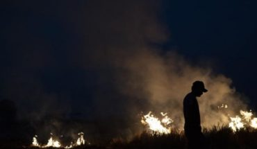 Brazilian Armed Forces begin work to fight fires in the Amazon and new spotlights are recorded