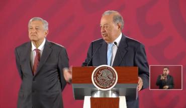 Carlos Slim backs up big AMLO projects
