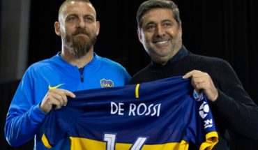 "Daniele De Rossi on her arrival in Boca: ""It changed my life"""