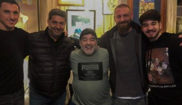 De Rossi fulfilled another dream in Argentina and visited Diego Maradona