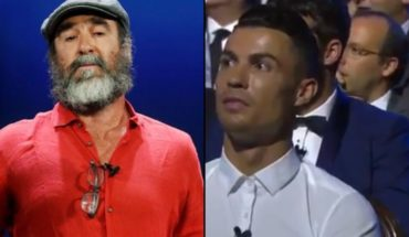 Eric Cantona's unusual speech at the UEFA awards: flies, death and science
