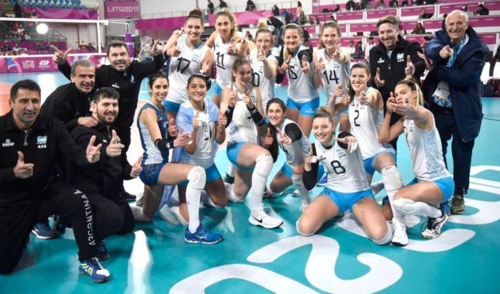 Historic day for Argentine volleyball: bronze for the Panthers at the Pan American Games in Lima and passage to Tokyo 2020 for the men's national team