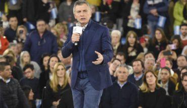 "Macri in Rosario: ""I hope God enlightens me"""