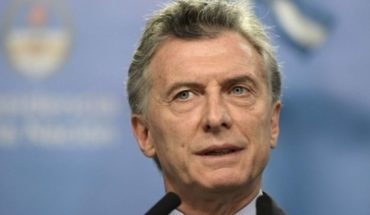 "Macri's message: ""We can all help bring peace of mind to Argentines"""