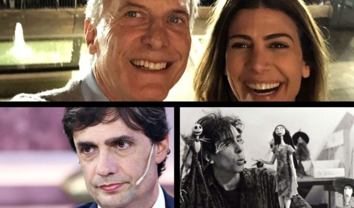 March in Macri's favor; Lacunza with the IMF; Tim Burton's birthday; Breaking Bad film and more...