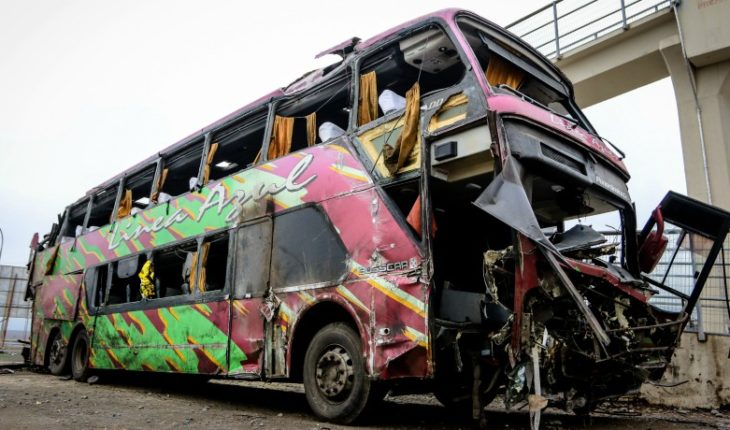 Ministry of Transport seeks to suspend the operation of the buses of the company Línea Azul