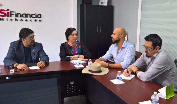 Morelia Economic Development Secretariat reports that it offers financing to MIPYME