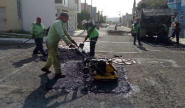 Morelia government claims to have intervened more than 600 streets with pothole actions