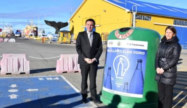 New glass recycling bells in Punta Arenas join Magellan Choose Glass initiative