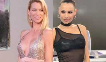 """Nicole Neumann threw a """"stick"""" over meeting Pampita at the Dancing"""
