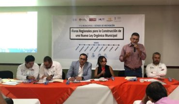 Sergio Báez reiterates commitment to the municipalities of Michoacán