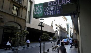 The dollar fell back $4 although volatility in the markets remained